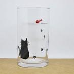 足あとネコちゃんフリーカップ(大)260ml【日本製 猫柄 コップ 肉球 1386】