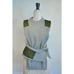 【RehersalL】commando sweater vest(gray) /【リハーズオール】コマンドセーターベスト(グレー)