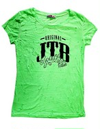【JTB】 DAMEGE Tシャツ【蛍光グリーン】【再入荷】イタリアンウェア【送料無料】《M&W》