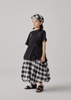 GRIS Back FareT-Shirts  (Beige/Black)(M/L) GR20SS-CU007 ※メール便可