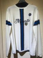 Maturita マチュリタ   スポーティーロゴ刺繍入り プルオーバーセーター   アイボリー