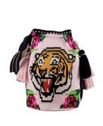 モチラ (Mochila) Tiger in pink