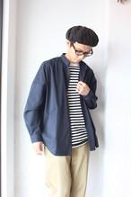Niche. (ニッチ)/ Goteo Over Shirts(オーバーサイズシャツ)ネイビー