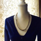 Hemp Spiral Yarn Necklace 64cm 麻のスパイラルヤーン 64cm