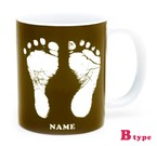 ai mug   B-type (BROWN)