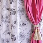 ランドスケープ カーテン 110×180cm フラワー2