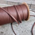 極上の艶 靴紐 (ブラウン) 平紐 6mm