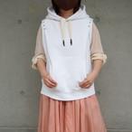 【sandglass】custom foodie(pattern C white ) / 【サンドグラス】カスタムフーディ(パターンC white)