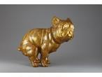 【限定生産】いきむ犬[bat ear]/Geisha gold(ラメ入り金)|限定カラー