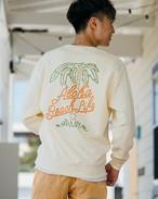【10/21(wed)21:00販売開始】ALOHA BEACH TREE Sweat (ivory)
