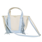 SideFringeToteBag[S]/ice blue