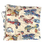 70's US ARMY Fabric Sleeping Bag 寝袋 ©1977 Revell Fokker レッドバロン 戦闘機 キャンプ用品 スリーピングバッグ
