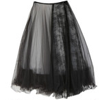 RIMI&Co. SELECT チュールメッシュレイヤードスカート