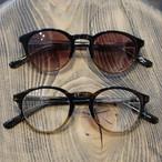 1sin(イッシン) CIRCLE別注innovator ブラウンハーフ ラウンドボストン眼鏡・サングラス