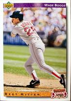 MLBカード 92UPPERDECK Wade Boggs #646 RED SOX DIAMOND SKILLS
