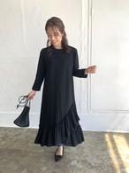【2サイズ展開】Original裾フリルカットワンピース