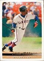 MLBカード 93UPPERDECK Mike Felder #186 GIANTS