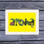 アートプリント A4(Aloha Letter)