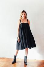 CRINOLINE DRESS BLACK