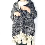 Mexico Wool Stole _03(メキシコ ウール ストール ひざ掛け マルチカバー)