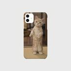 直立する子猫のiphoneスマートフォンケース【送料無料】