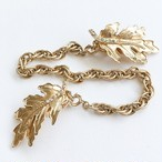 gold leaf sweater clip[s-197]
