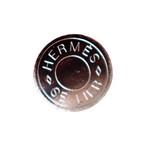 【VINTAGE HERMES BUTTON】セリエ シルバー ボタン 1.2cm H-19005