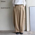 HARVESTY リネンコットンサーカスパンツ LINEN COTTON CIRCUS PANTS A11803 (BEIGE)