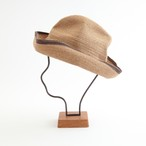 mature ha./BOXED HAT 101SWE mixbrown×darkbrown