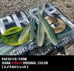 ISANA 4.8inch B-FARMオリジナルカラー【エメラルドシャッド】