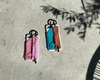 PVC zipphone case / ajew