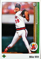 MLBカード 89UPPERDECK Mike Witt #555 ANGELS