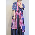 【RehersalL】 aloha gown (pink 24)/【リハーズオール】アロハガウン(ピンク 24)