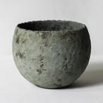 椀型青錆鉢(L)