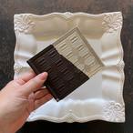 【お取り置き品】札ばさみ(ビター銀)と革のチョコがま口カードケース兼財布(スイート銀)セット