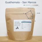 グアテマラ サンマルコス 深煎り豆・粉 100g RA認証