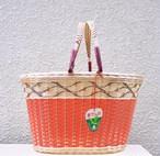 retro basket  鈴ワシ印 made in japan