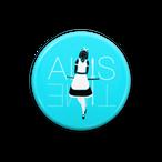 「ALIS TIME」缶バッジ(Designer Wanda)