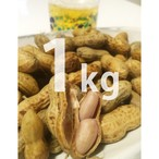 土つき生落花生(1kg)