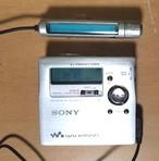 MDポータブルレコーダー SONY MZ-R909-S MDLP 完動品♪