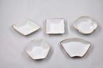 錆白磁 豆皿