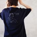 <ワイド>Pinky Tee Navy(Tシャツ)
