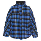NAPA BY MARTINE ROSE / A-ACHO JKT  / CHECK 36 BLUE