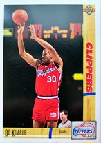 NBAカード 91-92UPPERDECK Bo Kimble #114 CLIPPERS
