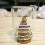 ウォーターメロントルマリン アフガニスタン産 宝石の森シリーズ ガラスボトルジュエリー bs094