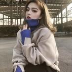 P3368 レディース トップス セーター ニット ゆったり オーバーサイズ 韓国 韓国ファッション 厚手 防寒 お出かけ カジュアル 可愛い 秋冬 新作