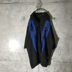 [used] blue two lined shirt