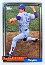 MLBカード 92TOPPS Nolan Ryan  #001 RANGERS