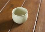 白橡釉丸湯のみ(鎬)
