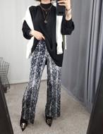 パイソンパンツ パンツ パイソン 韓国ファッション